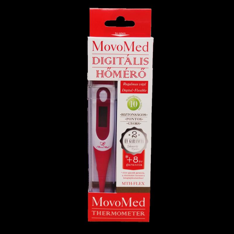 MovoMed digitális lázmérő flexibilis végű