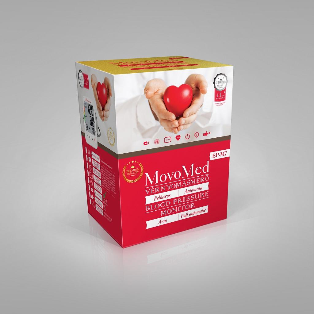 Felkaros vérnyomásmérő MovoMed BP-M7 - MovoMed